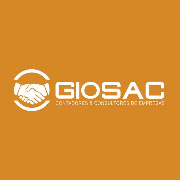 Logo 02: Giosac – Contadores & consultores de empresas